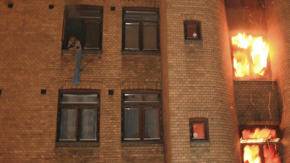 SEKS OMKOM:  Seks mennesker omkom i brannen i Urtegata 31 i Oslo natt til 13. desember 2008. Foto: Espen Hovde / Scanpix