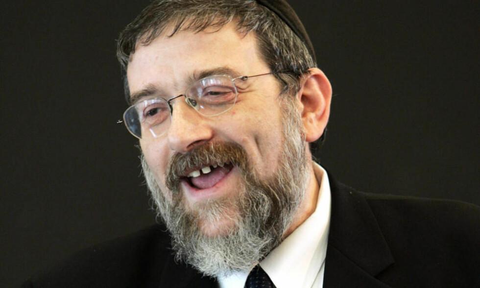 HERZLS ETTERFØLGER?: Michael Melchior, tidligere forstander i den jødiske menigheten i Oslo. Foto: ERLEND AAS/SCANPIX