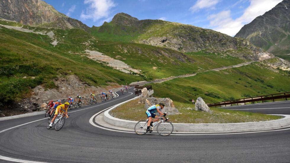 FRYKTER DAGENS ETAPPE: Lance Armstrong mener dagens etappe er treukersrittets tøffeste. Foto: AFP