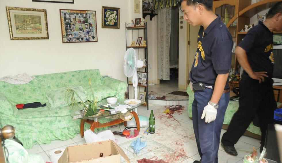 FLERE GJERNINGSMENN: Obduksjonsrapporten etter drapet på nordmann (50) tyder på at det ikke bare var ei jente (16) som tok livet av ham. Han har to ulike typer stikkskader på kroppen. Mannen ble funnet drept i sitt hjem i Cebu på Filippinene mandag. Foto: Privat