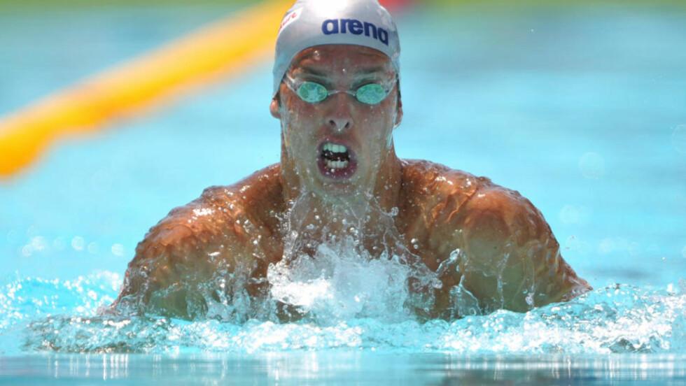 INGEN VM-FINALE: Alexander Dale Oen ble slått ut i semifinalen. Foto: AFP