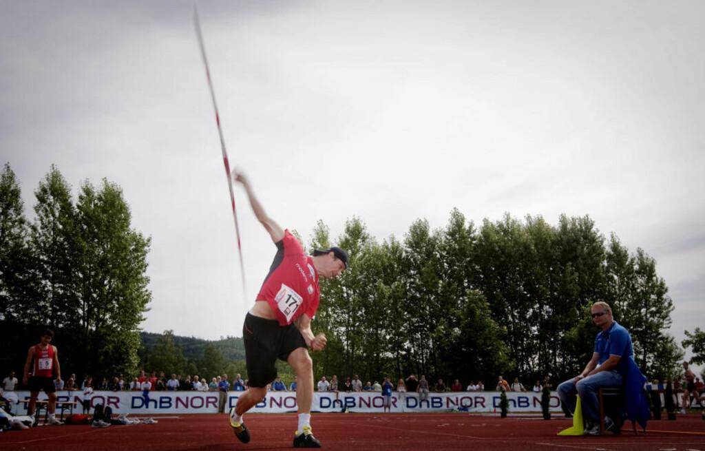 SOLID: Andreas Thorkildsen leverte fire kast over 86 meter og viste bunnsolid VM-form under NM på Lillehammer.Foto: Kyrre Lien / SCANPIX