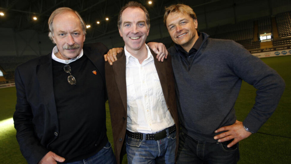 TRE BLIR TO?: Johan Kaggestad, Christian Paasche og Dag Otto Lauritzen har utgjort et meget populært kommentator-team for TV2s sendinger fra Tour de France. Nå vurderer Paasche å gi seg. Foto: Lise Åserud / SCANPIX
