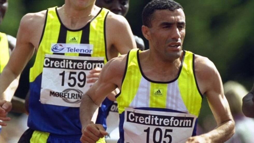 HARD UT: Den tidligere idrettsstjernen Khalid Sakh kommer med krass kritikk av norske myndigheter og norske journalister i marokkansk presse. Foto: OLE C. H. THOMASSEN