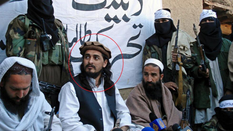 KANDIDAT: Lederen for gruppen Fedayeen al-Islam, Hakimullah Mehsud, er en av dem som kan bli ny leder for pakistanske Taliban, etter at den tidligere toppen Baitullah Mehsud trolig ble drept på onsdag. Det ventes at navnet på den nye lederen offentliggjøres etter fredagsbønnen i dag. Foto: SCANPIX