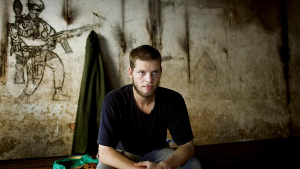 STÅR FRAM: Joshua French (27) velger å stå fram. Han har tidligere vært anonym av hensyn til familien. Foto: Espen Røst/DAGBLADET