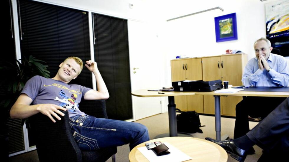 SNART GJELDSFRI: Jon H. Nordbrekken begynte opprydningen i Riises økonomi i 2007. Gjeldsmekleren beskriver Baardsens håndtering av fotballproffens økonomi som noe av det verste han har sett i bransjen. Foto: Nina Hansen / DAGBLADET.