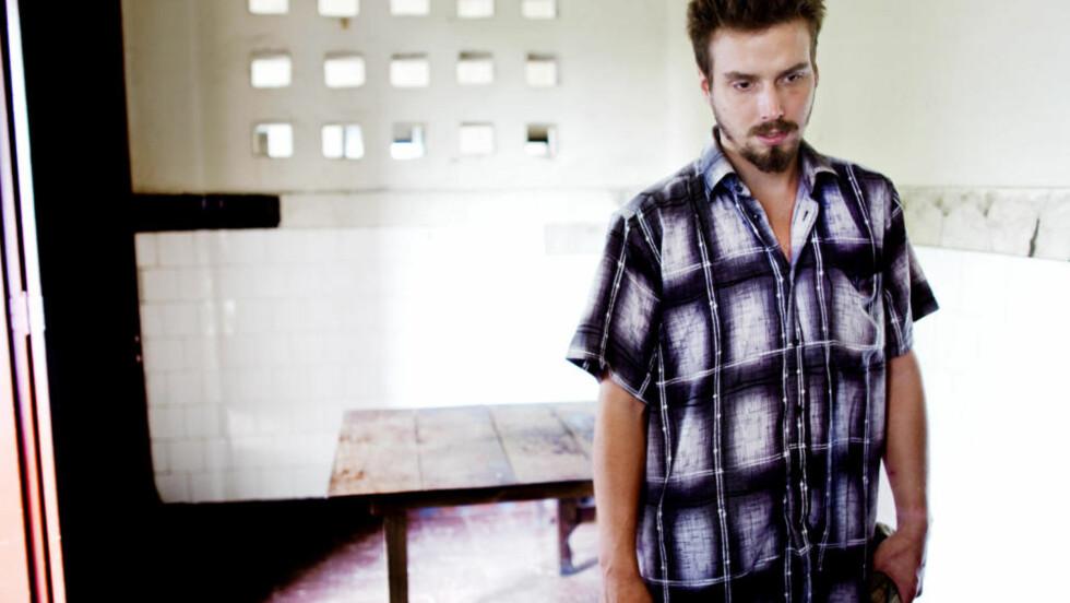 RISIKERER DØDSSTRAFF: Tjostolv Moland møtte Dagbladet i Kongo og forteller sin versjon av hendelsene som ledet til drapet på sjåføren Abeidi Kasongo 5. mai. Foto: Espen Røst