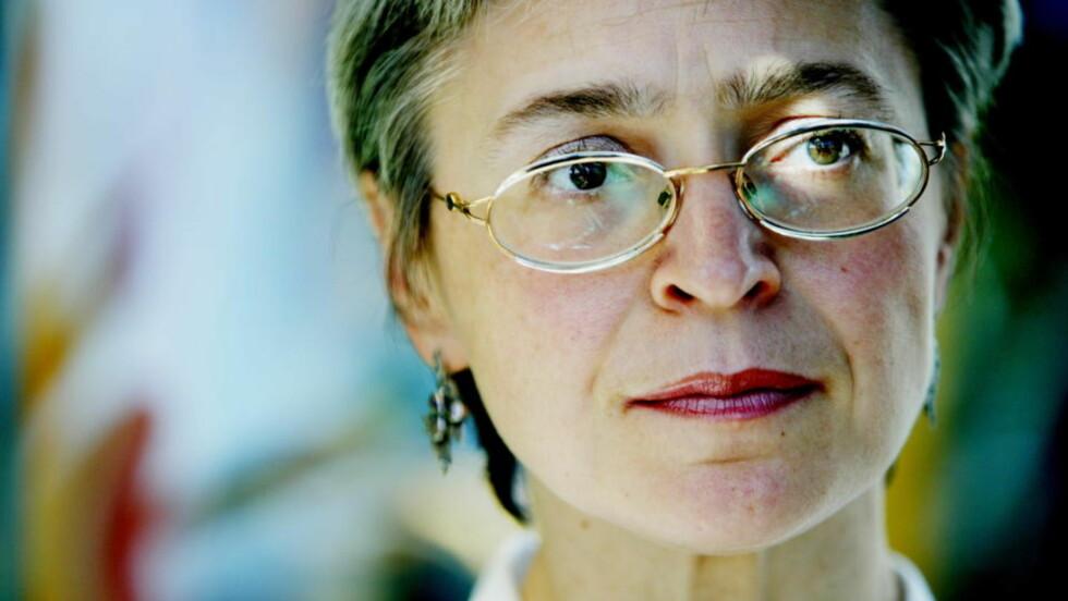 PUTIN-KRITIKER: Anna Politkovskaja ble drept i 2006. Foto MØLLER/METTE Dagbladet