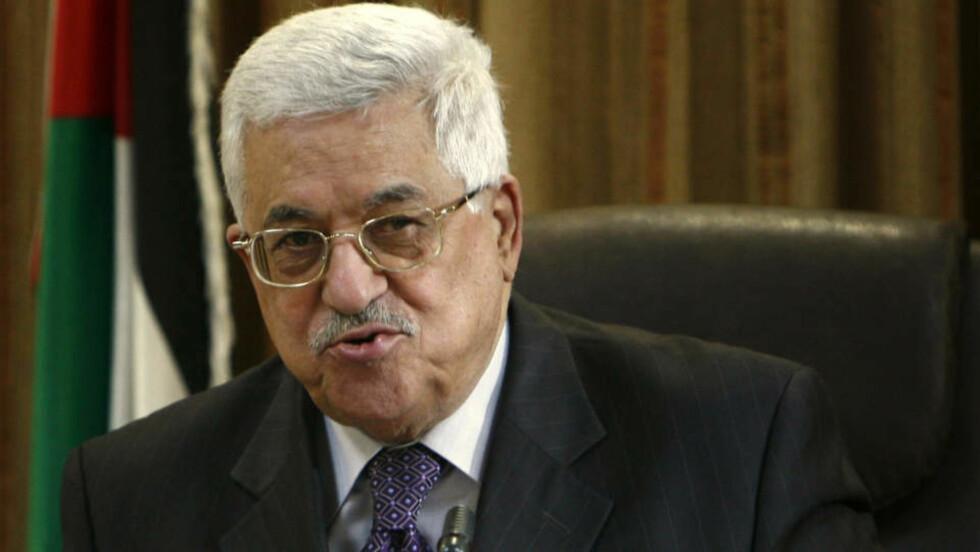 GJENVALGT: Den palestinske presidenten Mahmoud Abbas er blitt gjenvalgt. Nå skal Fatahdelegatene stemme over hvem som skal sitte i sentralkomiteen og revolusjonsrådet. Foto: AP Photo/Maya Hiti/SCANPIX