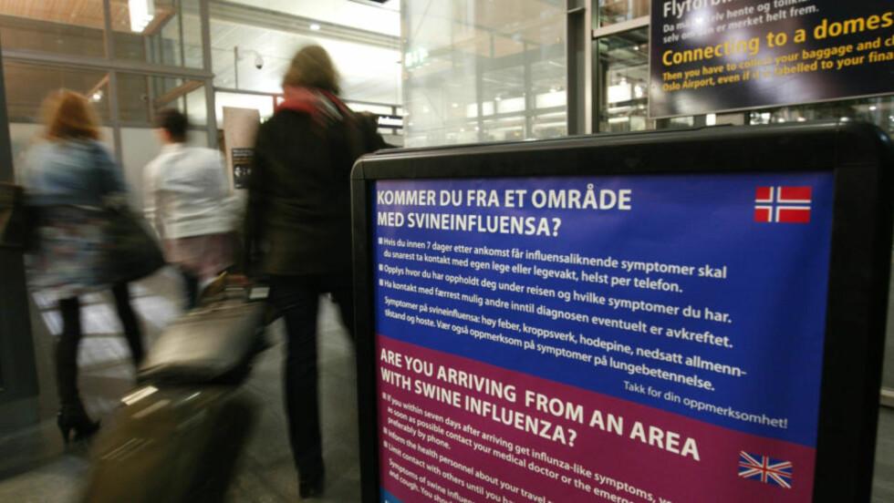 OVERSER ADVARSLER:  Hele folket blir tilbudt vaksine, men tross advarsler har seks av ti nordmenn allerede bestemt seg for å takke nei. Foto: BJØRN SIGURDSØN, SCANPIX.