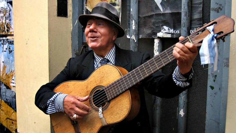 LYSTIGE TONER: Argentina er kjent for tango og fotball, men de lager også god vin. Foto: Tinna Gudmundsdottir.