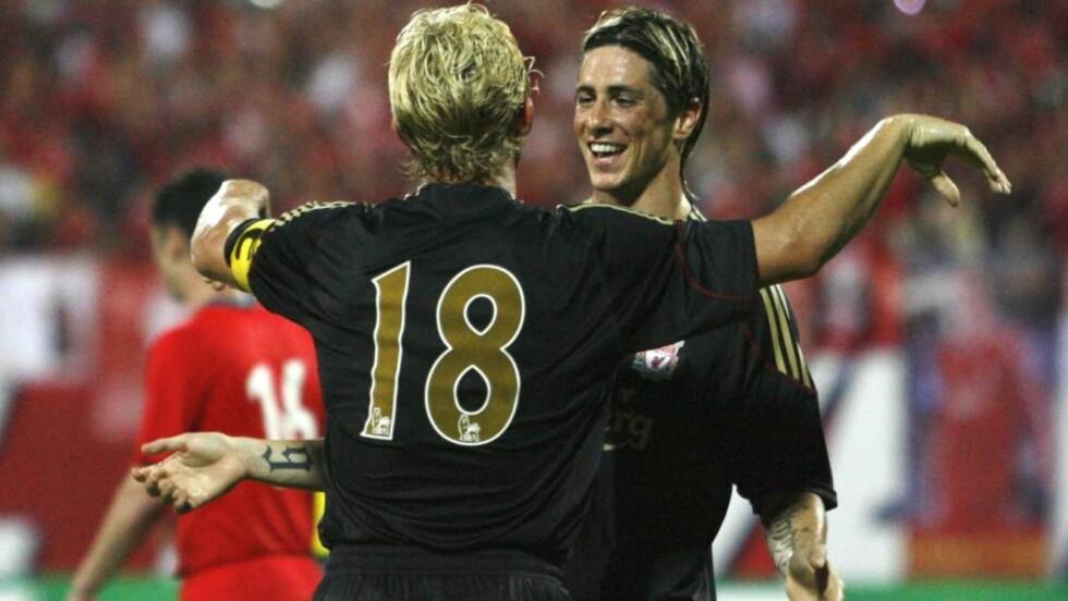 FORBEDRET AVTALE: Fernando Torres har skrevet under på en ny og forbedret avtale med Liverpool.Foto: SCANPIX/REUTERS/Tim Chong