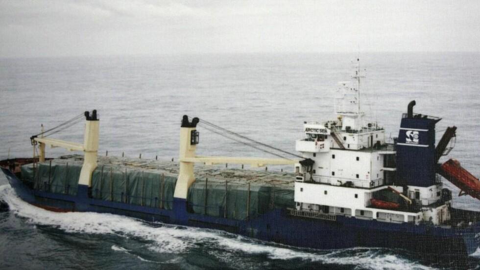 KREVER LØSEPENGER: Udatert bilde av Arctic Sea. Rederiet som eier det savnede skipet har nå mottatt et krav om løsepenger. Foto: REUTERS/SCANPIX