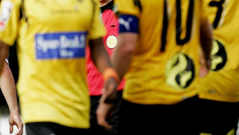 I PENGENØD: Moss FK trenger fire millioner kroner på 12 dager om de skal få fornyet profflisensen og beholde plassen i førstedivisjon.Foto: Stian Lysberg Solum  / SCANPIX .