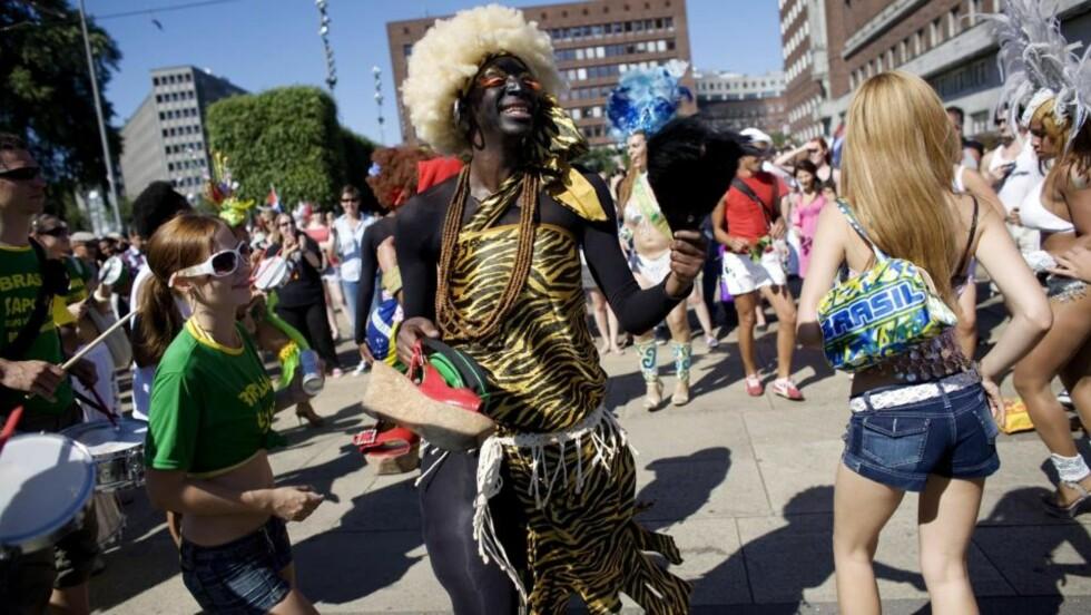 NESTE ÅR OVER GRØNLAND?  Homoparaden under Skeive dager. Foto: Torbjørn Grønning / Dagbladet