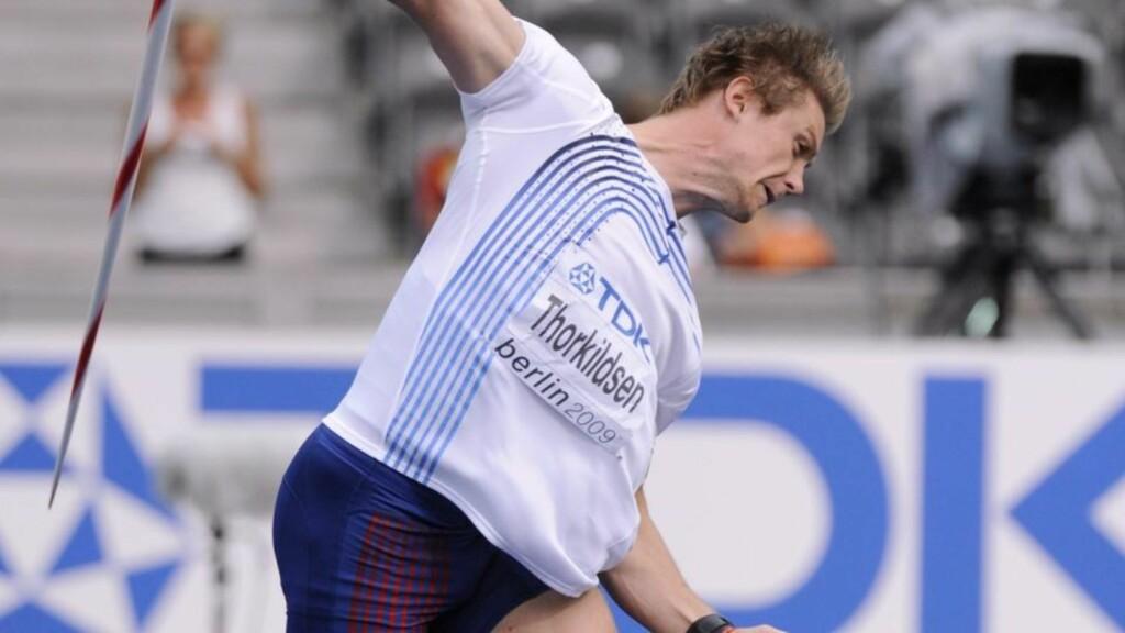 LEVERTE IKKE: Andreas Thorkildsen noterte seg for et lengstekast på 80,37 meter. Spydkasteren sier til Dagbladet at han ikke legger for mye i kvaliken. Foto: SCANPIX.