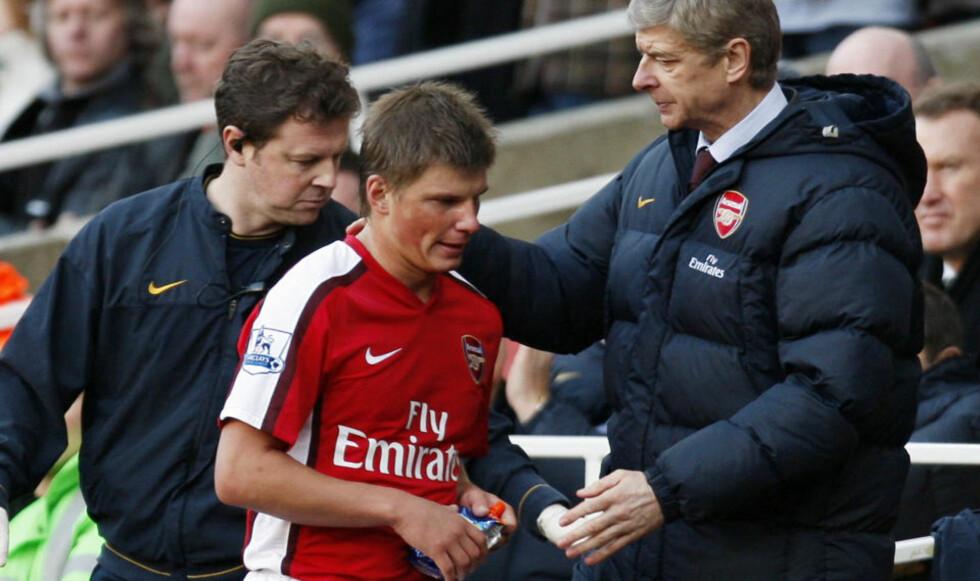 «SHOW ME THE MONEY»: Andrej Arsjavin mener Arsenal må bruke penger på to-tre nye klassespillere før overgangsvinduet stenger neste tirsdag.Foto: SCANPIX/AFP PHOTO/PAUL ELLIS