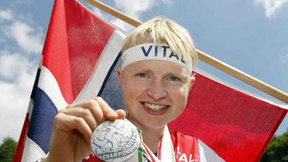 VM-PROFIL: Marianne Andersen var strålende fornøyd med nok et individuelt VM-sølv i Miskolc søndag.Foto: Sören Andersson / SCANPIX .