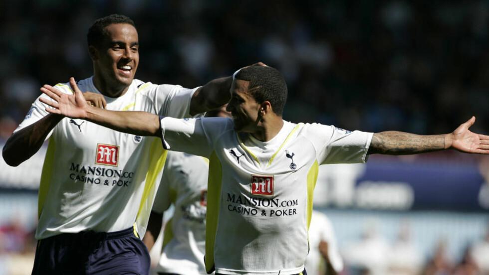 TIL TOPPS: Aaron Lennon sendte Tottenham til topps i Premier League med sitt vinnermål mot West Ham i helga, og Spurs har hatt sin beste sesongstart på nesten 50 år. Foto: SCANPIX/AP/Akira Suemori