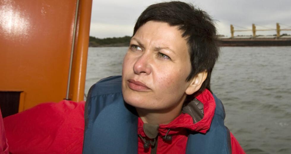 """INNRØMMER: Fiskeri- og kystminister Helga Pedersen innrømmer at hun har gjort """"pinlige"""" feil, når hun ikke har gjort det nødvendige papirarbeidet i utbyggingen av huset sitt i Tana. FOTO: SCANPIX"""