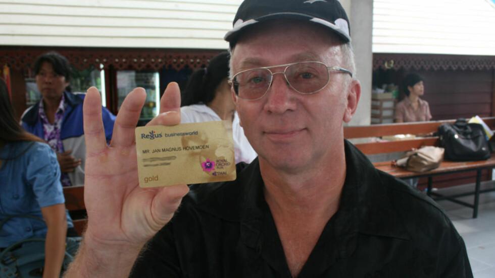 ANGRER: 54-åringen beklager sterkt hendelsen på flyturen til Thailand. (Foto: Harald Henschien)