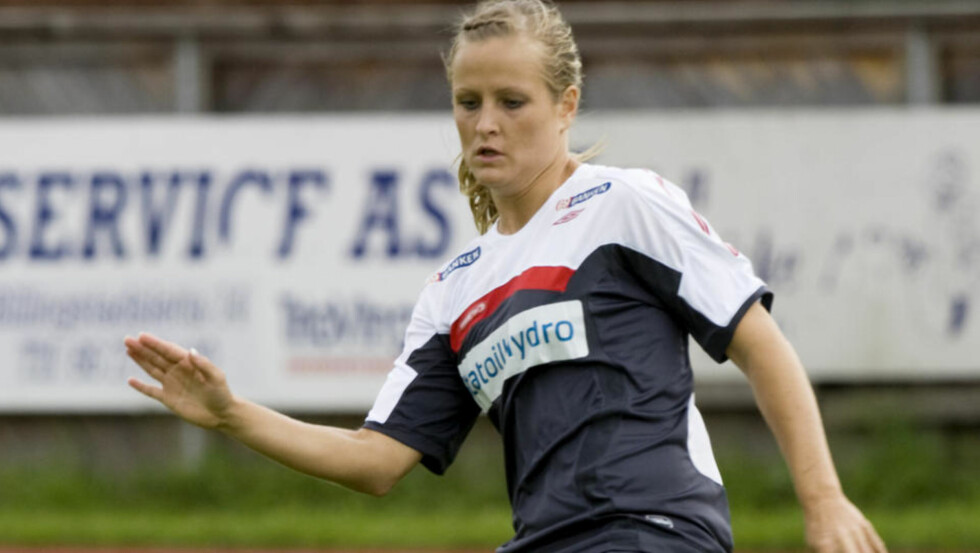 SKJEBNEKAMP I MORGEN: Melissa Wiik spiller EM-kampen på samboerens gamle hjemmebane. Foto: Morten Holm/ SCANPIX