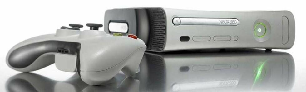SYNKER I PRIS: Microsoft møter nå konkurransen i den nye PlayStation 3-modellen ved å sette ned prisen på sin Xbox 360-konsoll.