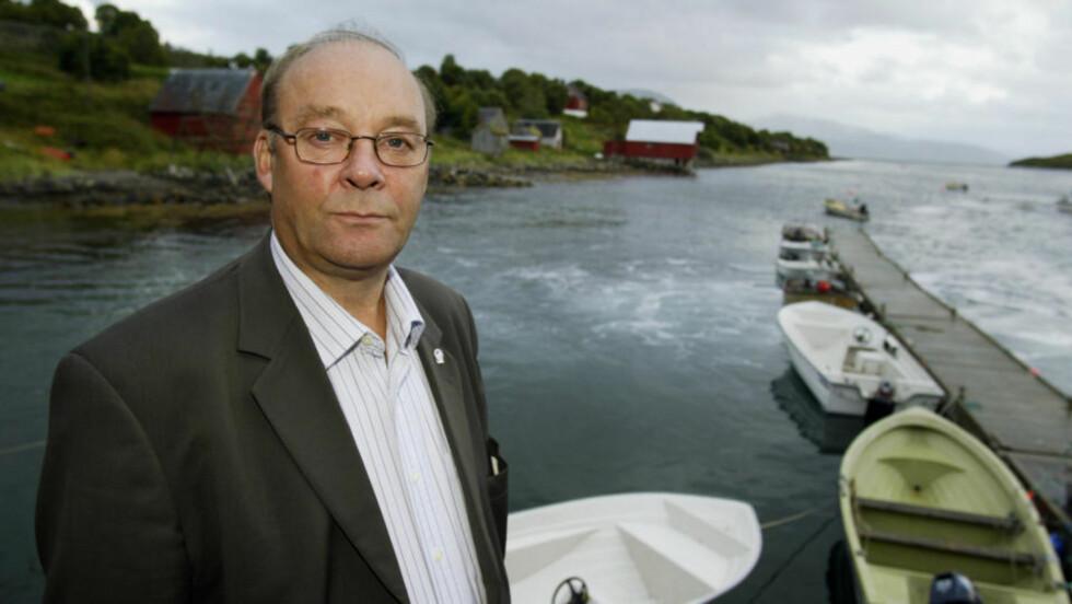 TENKER MILJØ: - Vi har ikke mange andre måter å bidra på enn å ta det på drifta, sier leder i Noregs Fiskarlag, Reidar Nilsen. Foto: SCANPIX.