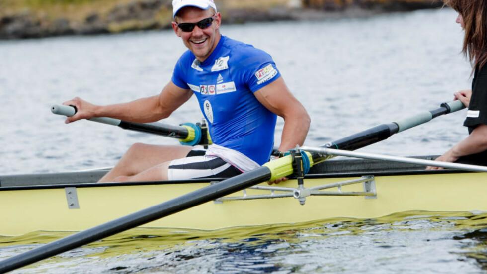 OL-kongen Olaf Tufte rodde ikke bra i VM-semifinalen i Pozdan. Foto: Stian Lysberg Solum / SCANPIX