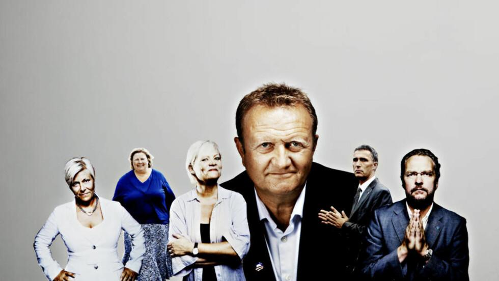 «ALT SNAKKER»: - Framtoning, stemmeleie, klær, bosted, dialekt og kjønn avgjør hvor effektiv kommunikasjonen er, ifølge Kjell Terje Ringdal. I denne artikkelen vurderer han partilederne - og tar spesielt for seg vekta til Høyre-leder Erna Solberg.