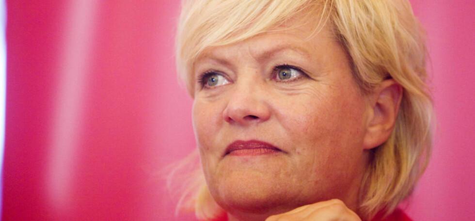 ANSVARLIG STATSRÅD: Som finansminister er SV-leder Kristin Halvorsen ansvarlig for Oljefondets investeringer.  Foto:  Cornelius Poppe / SCANPIX