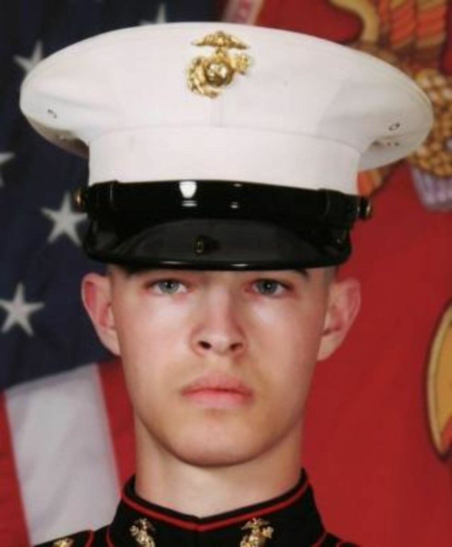 BLE 21 ÅR: Joshua M. Bernard, som også hadde tjenestegjort i Irak, ble drept av en rakettdrevet granat fra Taliban 14. august i år.