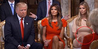 Trump-dattera legger seg flat etter denne motetabben