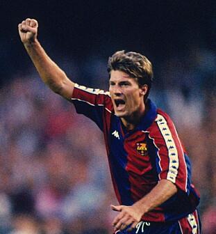 <strong>1989-94:</strong> Laudrup spilte i Barca i fem år. Foto: NTB Scanpix
