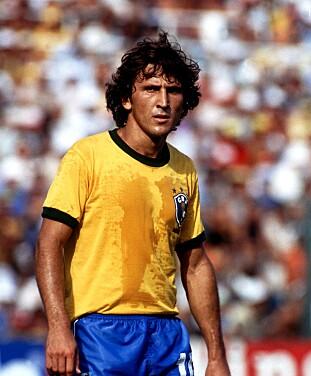 <strong>1976-86:</strong> Zico spilte for Brasil i ti år. Foto: NTB Scanpix