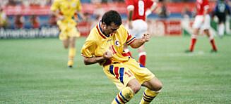 Gheorghe Hagi: - Colombia-kampen gjorde meg verdenskjent