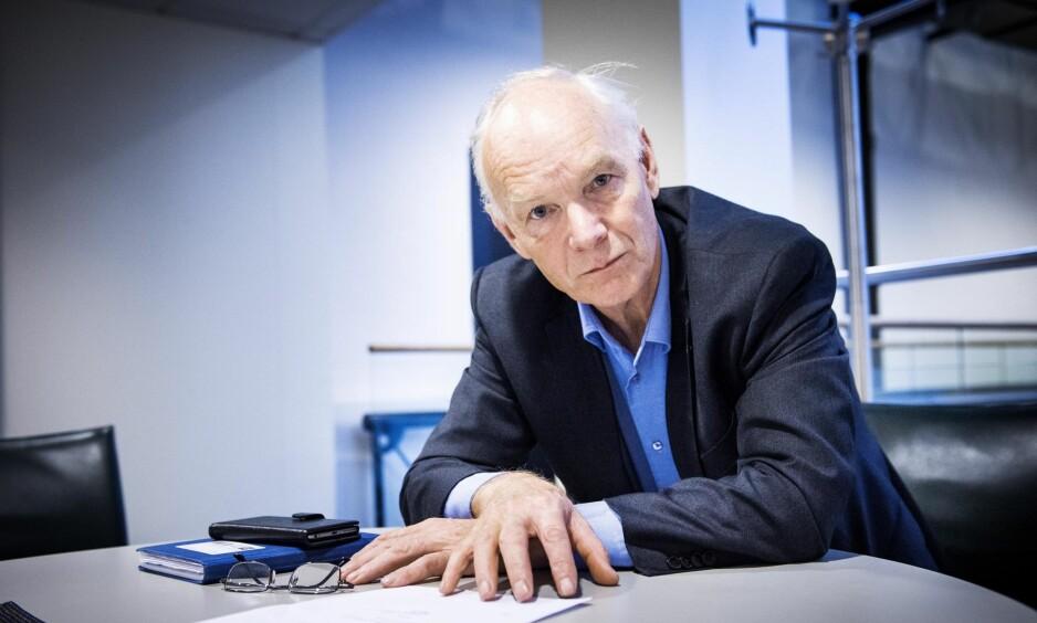 VIL OMFORDELE: Per Olaf Lundteigen (Sp) vil omlegge elbilsubsidiene, slik at alle som kjøper elbil får en støtte på 140 000 kroner per bil. Foto: John T. Petersen.