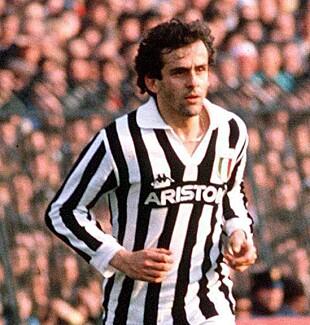 <strong>1987:</strong> Platini i Juventus. Foto: EPA/BILLON FRANCE OUT