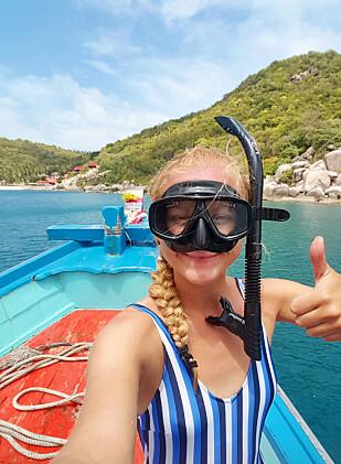 KLART VANN: Koh Tao er perfekt for dykking og snorkling. Foto: Mari Bareksten / Magasinet Reiselyst