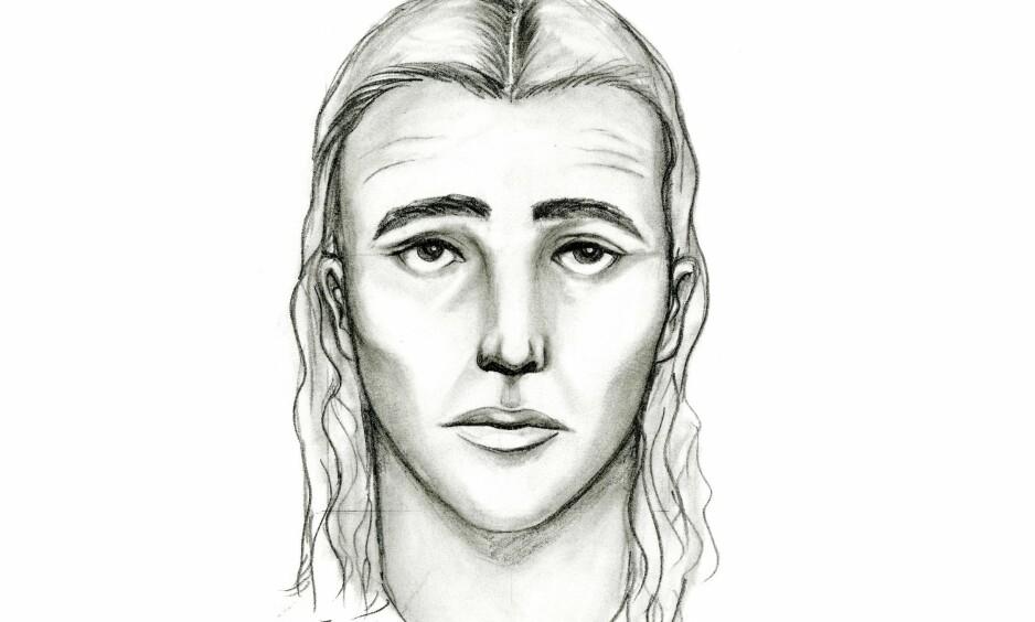 MISTENKT SERIEMORDER: Denne fantomtegningen av en mistenkt seriemorder i Anchorage i Alaska, ble publisert i begynnelsen av september. Nå mener politiet at mannen tegningen skal forestille, er avslørt. Han døde i en skuddveksling med politiet på lørdag, etter at han stakk av fra en taxiregning. Foto: Politiet i Anchorage