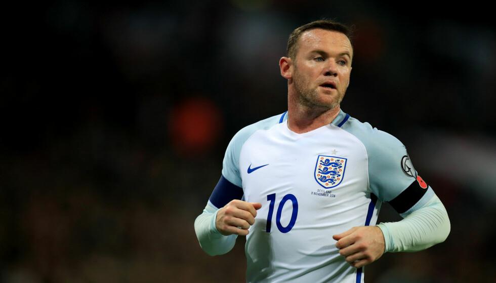 BESKYLDES FOR FYLL: Englands Wayne Rooney nekter for å ha vært på fylla under landslagssamlingen i helga. Foto: NTB Scanpix