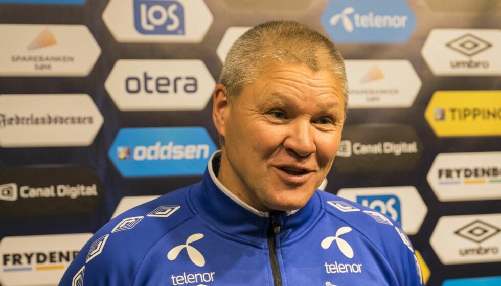 TAR OVER ÅSANE: Mons Ivar Mjelde tar over 1. divisjonslaget Åsane før neste sesong. Foto: Tor Erik Schrøder / NTB Scanpix