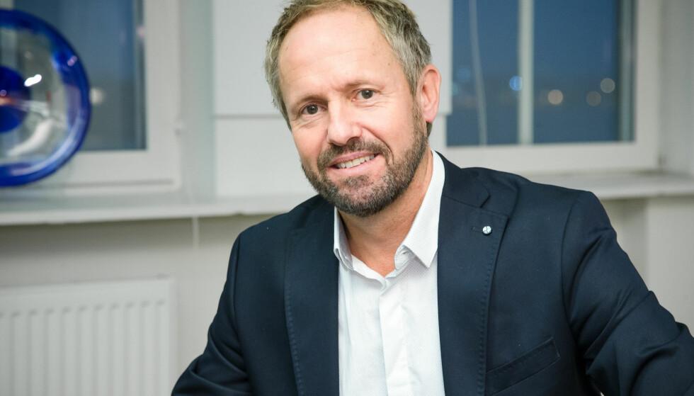 TIL NFF: NTB-sjef Pål Bjerketvedt er ansatt som ny generalsekretær i Norges Fotballforbund (NFF). Foto: Audun Braastad / NTB scanpix