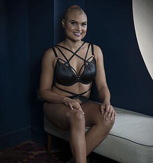 <strong>MISTER HÅRET:</strong> 24 år gamle Yasmin Taylor. Foto: Curvy Kate / Splash / NTB Scanpix