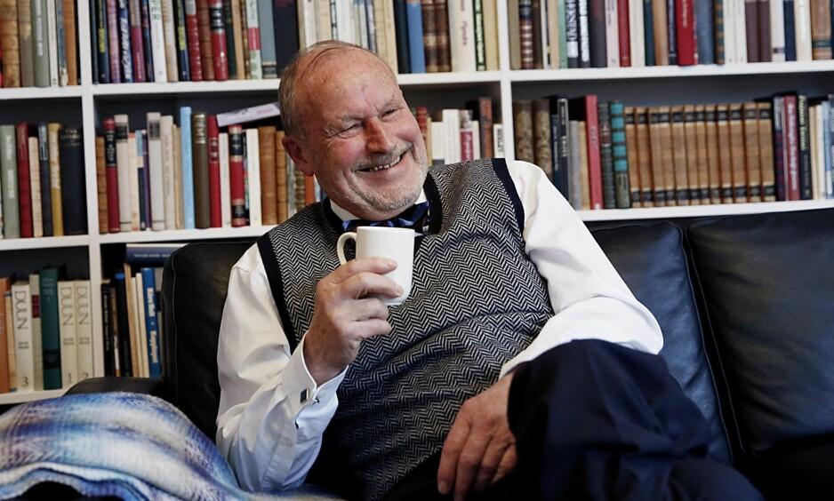 BLANDET REGNSKAP: –Mennesket må godta seg selv som ufullkommen skapning og livet som blandet regnskap, skriver Per Fugelli i denne kronikken. Foto: Jacques Hvistendahl / Dagbladet