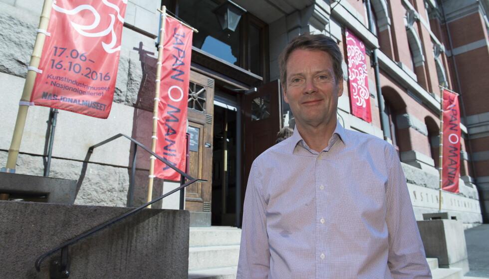 NASJONALMUSEET: Artikkelforfatteren mener direktør Audun Eckhoff bør kjøpe inn mer kunst av unge kunstnere til Nasjonalmuseet. Foto: Arne V. Hoem / Dagbladet