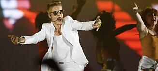 Justin Bieber kommer tilbake