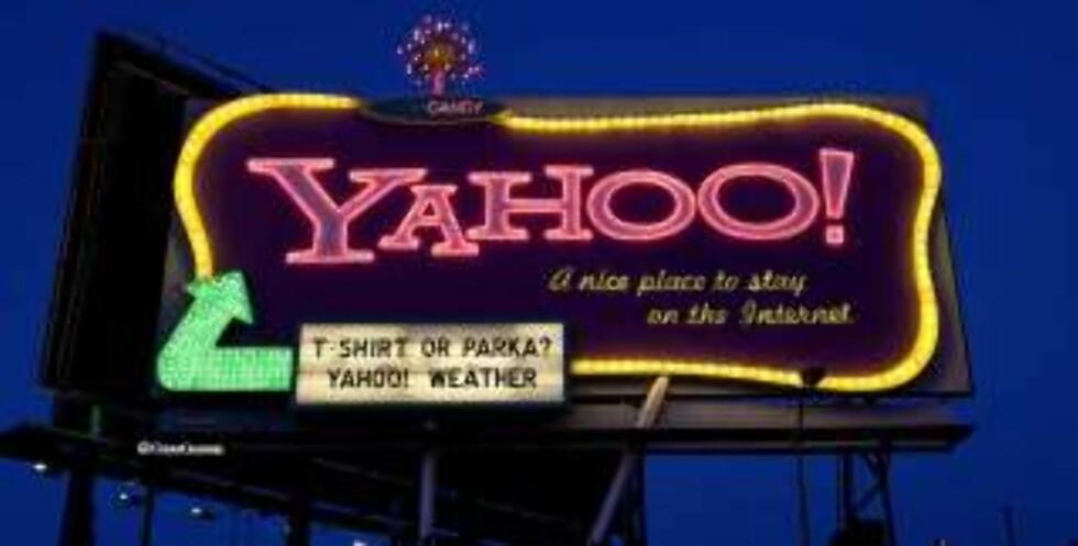 ÅRETS NEDTUR 2: Selskapet bak verdens mest besøkte nettadresse - snart redusert til et underbruk av Microsoft? Foto: SCANPIX
