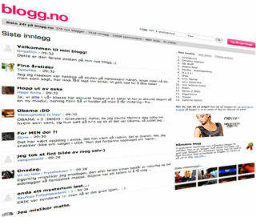 ÅRETS COMEBACK: Noen trodde bloggen var død. Men unge nordmenn blogget som aldri før, blant annet på blogg.no.